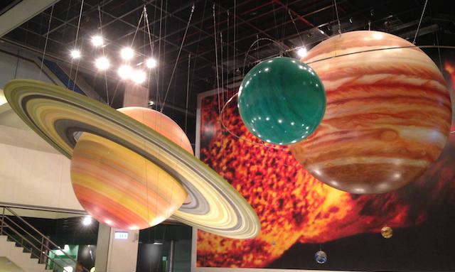 jupiter earth display taipei museum