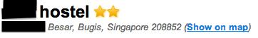 Singapore hostel Taiwan tourism