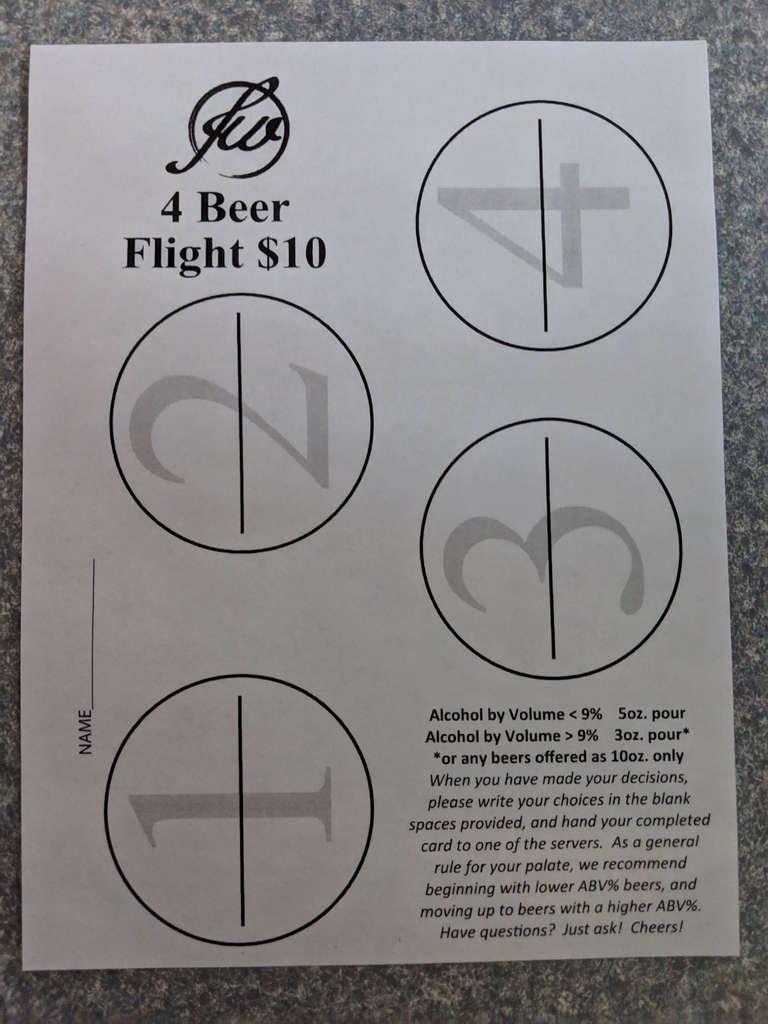 flight sheet